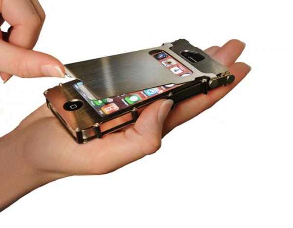 capa max de alumin o para iphone 4 ou 4s flip transformers. Black Bedroom Furniture Sets. Home Design Ideas